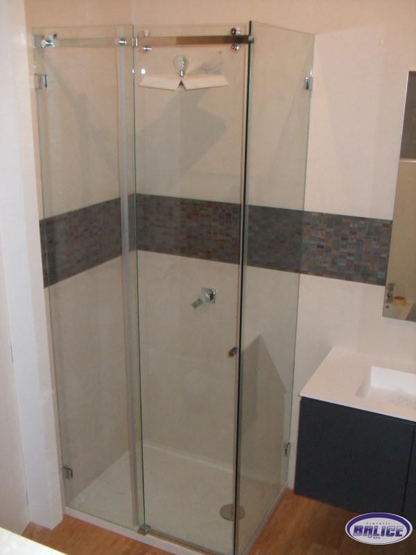 Box doccia su misura top lavabi in vetro vetreria bari for Arredo bagno bari