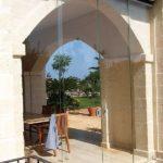 Porte scorrevoli in vetro 4