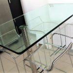 Tavolo in cristallo 1