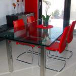 Tavolo in cristallo 4