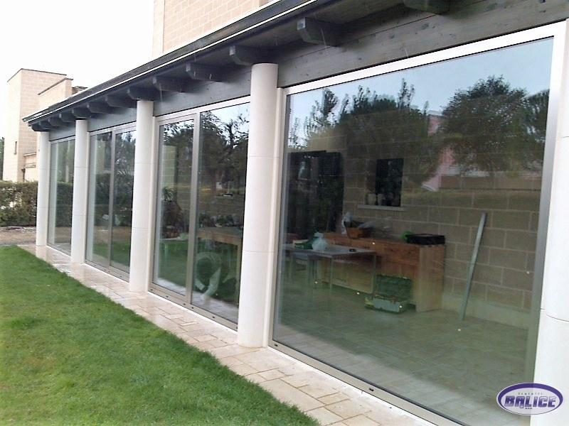 Vetrate Per Balconi Esterni : Vetri per finestre porte esterne in vetro vetrate per negozi