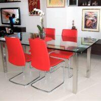 Tavolo in cristallo 3